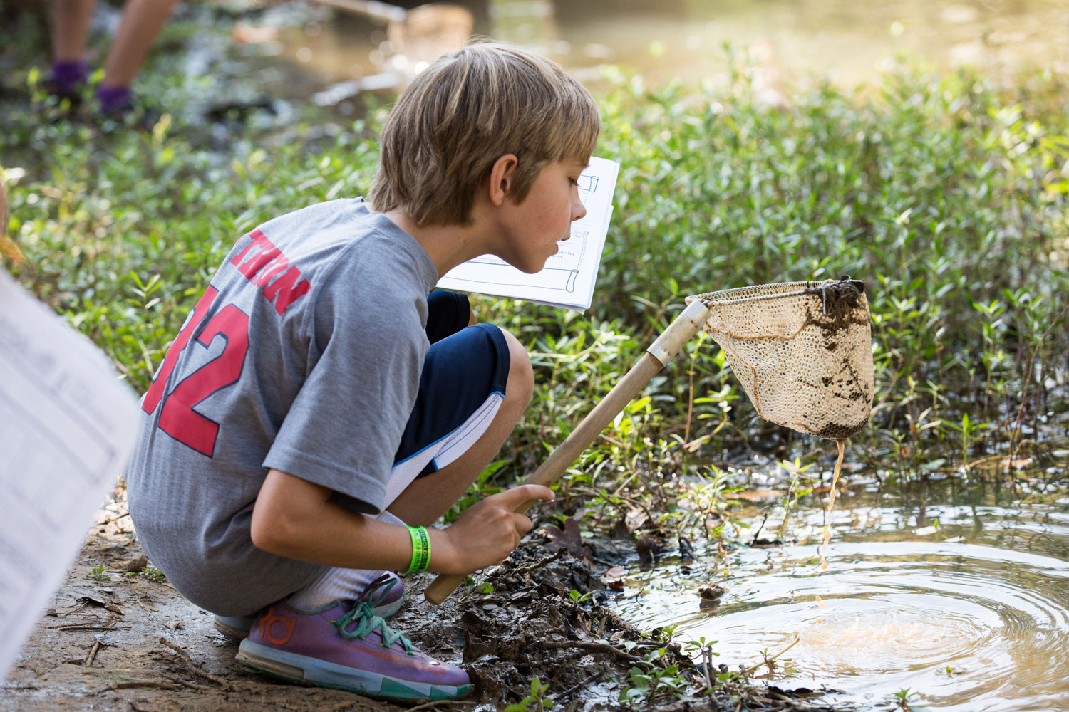 Schools outdoor ed limnology