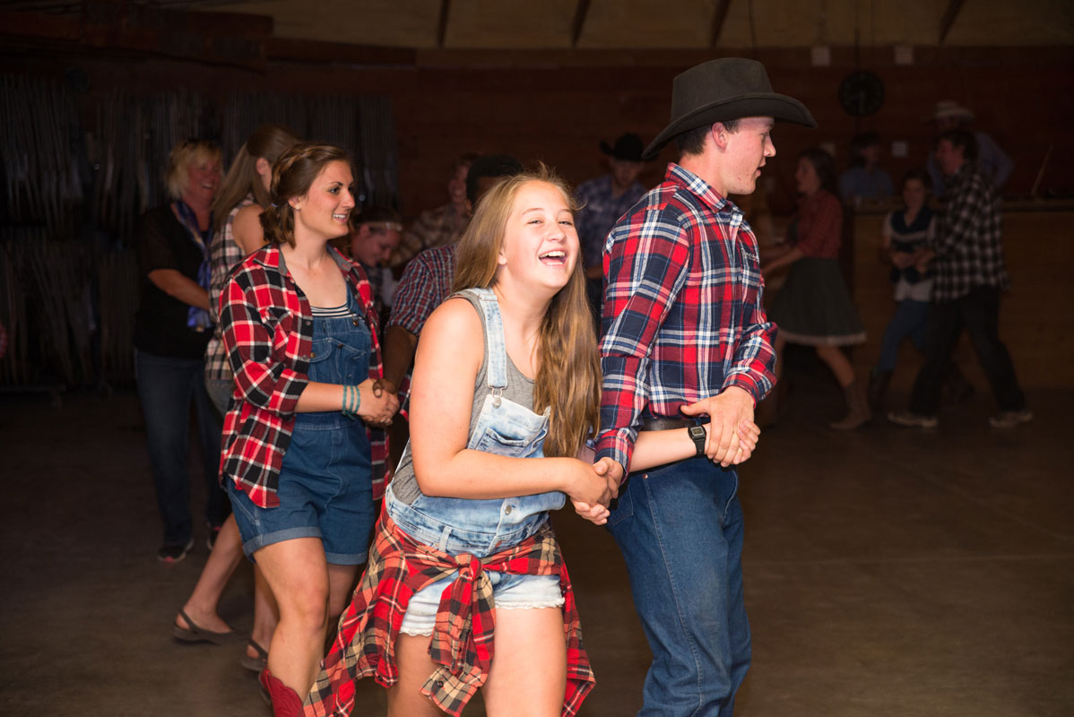 Horn creek family camp western night