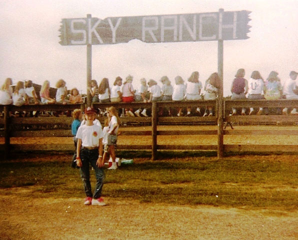 Vintage 1991 at rodeo