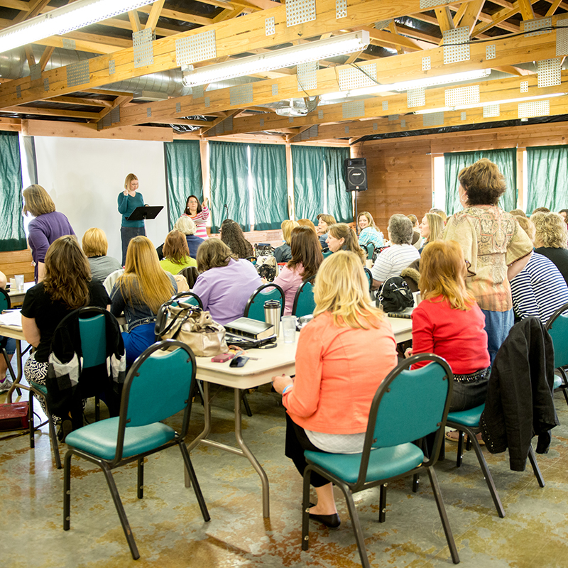 Women group retreat